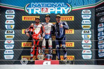 A Imola D'Annunzio vince la 1000, Casalotti la 600 e Bergamaschini la Moto2