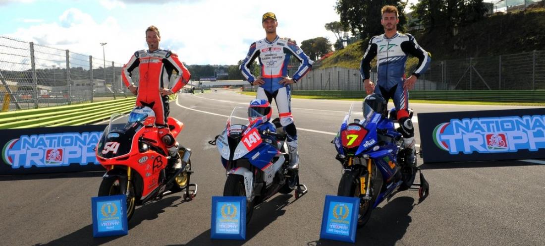 A Vallelunga finale thrilling del National Trophy. Gara a Salvadori e titolo a D'Annunzio. Velini e Noli ancora vincitori in 600 Supersport e Moto2