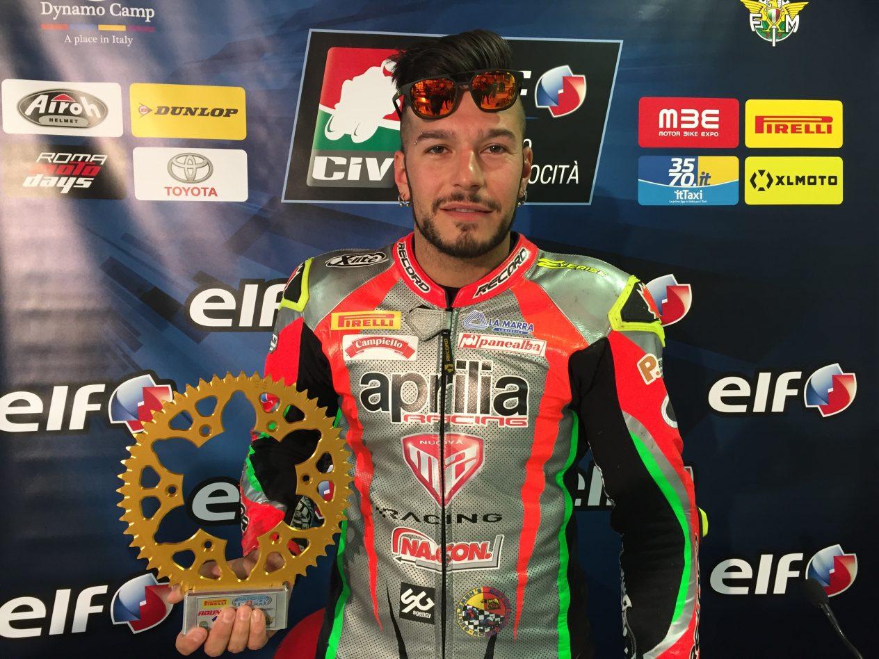 Pirelli National Trophy 1000 SBK - Eddi La Marra vince anche la gara del Mugello 2