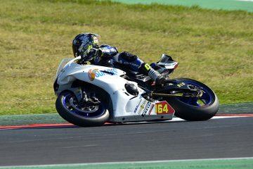 600 Supersport Free Practice Misano World Circuit Panta racing fuel round