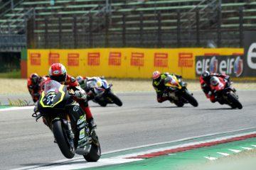Ancora Lanzi in Gara2, Tamburini mantiene le distanze. BigSupersport domina Ciprietti, prima vittoria di Saltarelli in Supersport600. 2